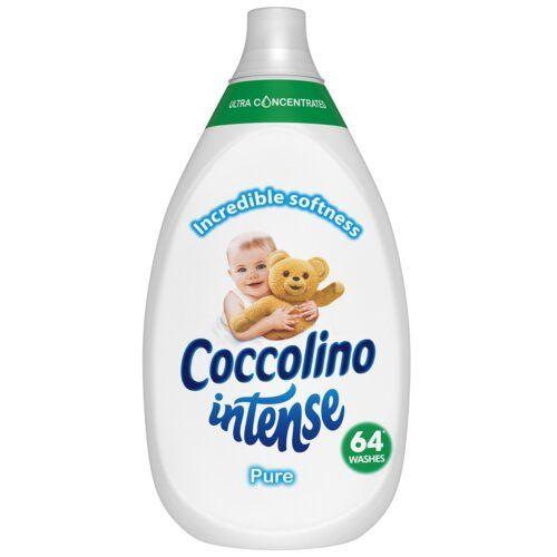 Balsam de rufe ultraconcentrat Coccolino Intense Pure 64 spalari 960 ml