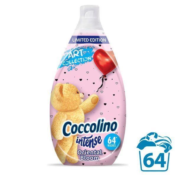 Balsam de rufe ultraconcentrat Coccolino Intense Oriental Bloom 64 spalari 960 ml