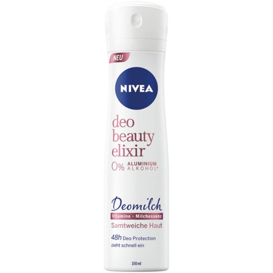 Deodorant antiperspirant Nivea Deo Beauty Elixir 0% Aluminium & Alkohol spray 150 ml