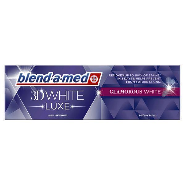 Pasta de dinti Blend-a-Med 3D White Luxe Glamorous White 75 ml