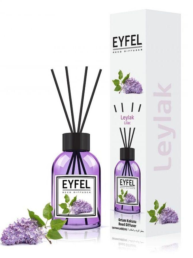 Odorizant camera cu bete de ratan Eyfel Lilac 110 ml