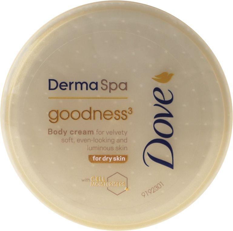 Crema de corp pentru piele uscata Dove DermaSpa Goodness 75 ml