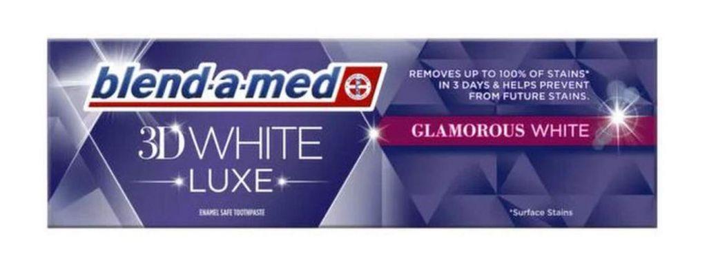 BlendaMed 3d White Luxe Glamous pasta de dinti 75 ml
