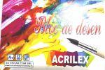 Bloc pentru desen Acrilex 12 foi 250gr