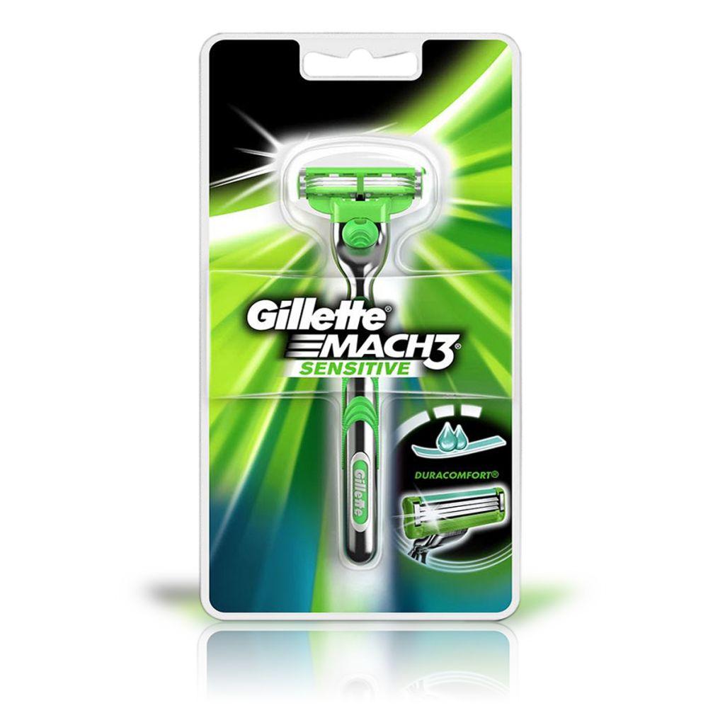 Aparat de ras cu rezerva Gillette Mach3 Sensitive