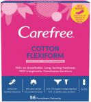 Absorbante zilnice Cotton Flexiform Fresh Scent Carefree 56 buc
