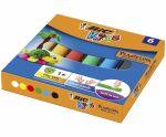 Plastilina modelatoare Bic kids 6 culori