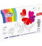 Carton color A4 set 8 culori Fiorello 160g/m