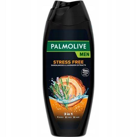 Gel de dus 3in1 Palmolive Men Stress Free Sandalwood  Lavender 500 ml