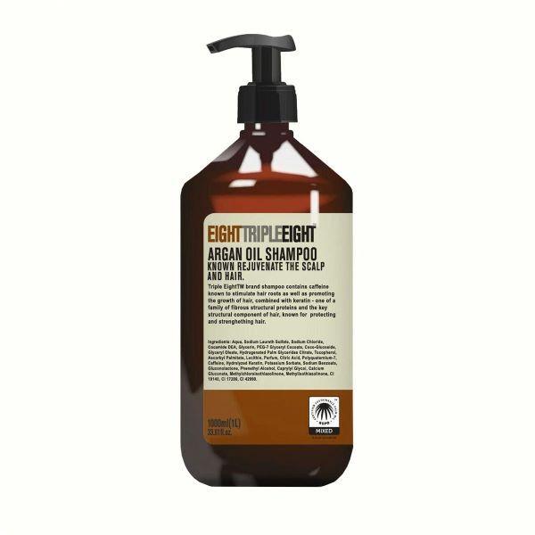 Sampon pentru par uscat Triple Eight Argan Oil Shampoo 1000 ml