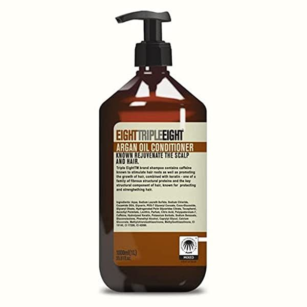 Balsam pentru par uscat Triple Eight Argan Oil Conditioner 1000 ml