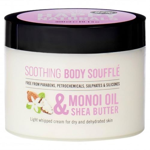 Souffle de corp pentru piele uscata Happy Naturals Monoi Oil  Shea Butter 300 ml