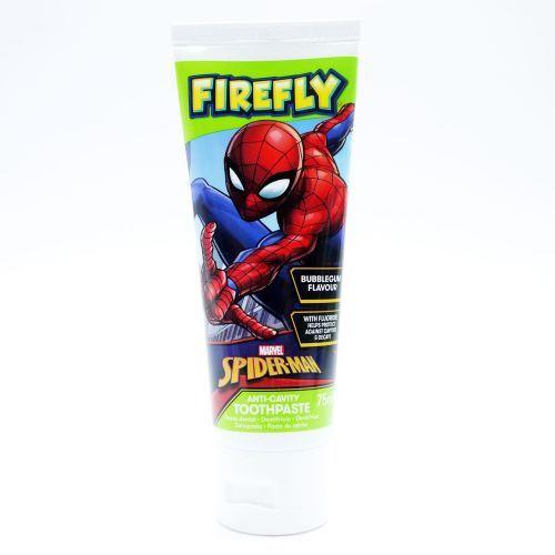 Pasta de dinti pentru copii 6 ani SpiderMan Firefly 75 ml