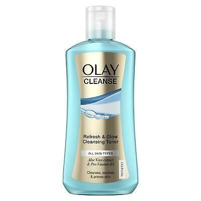 Tonic facial pentru toate tipurile de ten Olay Cleanse Refresh  Glow 200 ml
