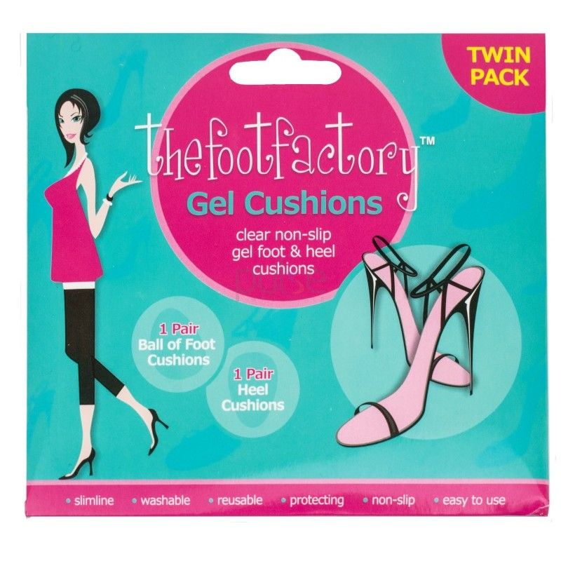 Pernute cu gel antialunecare pentru sandale The Foot Factory Gel Cushions 1 pereche