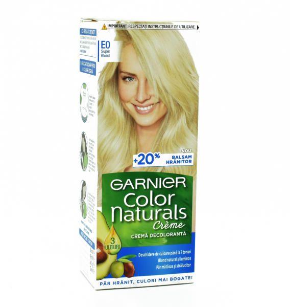 Vopsea de par permanenta E0 Super Blond Garnier Color Naturals