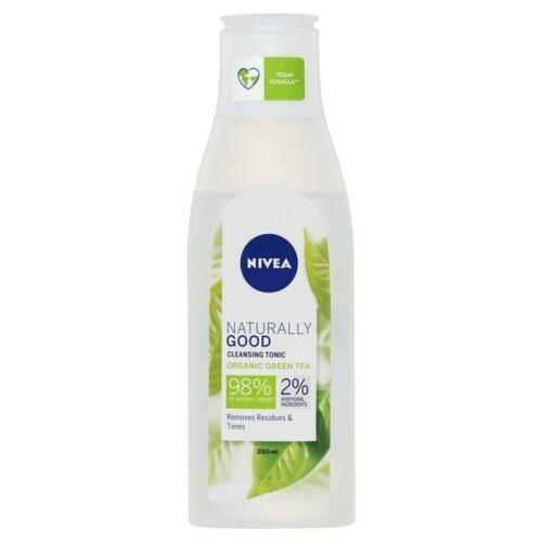 Lotiune tonica cu ceai verde organic Nivea Naturally Good 200 ml