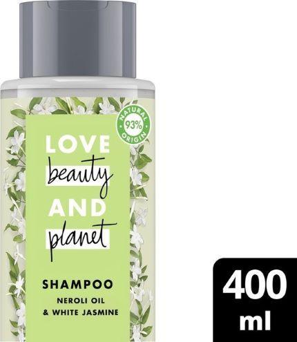 Sampon pentru par uscat Love Beauty and Planet Neroli Oil  White Jasmine 400 ml