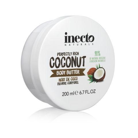 Unt de corp cu nuca de cocos Inecto Naturals Coconut Body Butter 200 ml