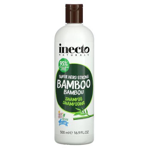 Sampon pentru par cu 95 ingrediente naturale Inecto Naturals Super Hero Strong Bamboo 500 ml