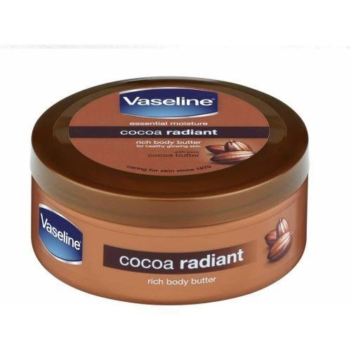Crema intensiva pentru corp cu unt de cacao Vaseline Cocoa Radiant 250 ml