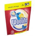 Detergent capsule pentru haine colorate Woolite Mix Colors 35 buc 770 g