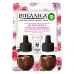 Rezerva de parfum odorizant electric Air Wick Botanica Island Rose & African Geranium 2 x 19 ml