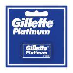 Gillette Platinum Lame de ras 5buc/set