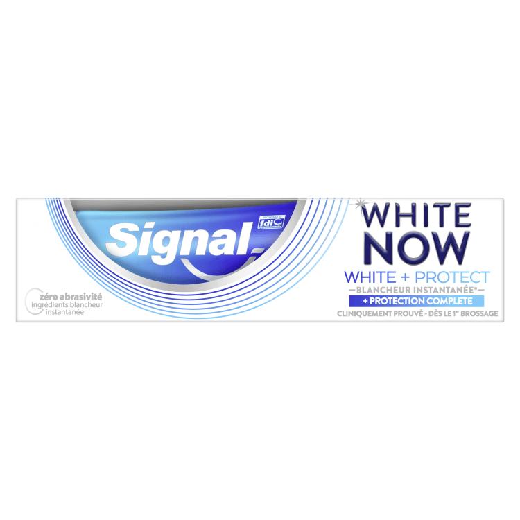 signal white now white protect protection complete pasta de dinti 75 ml