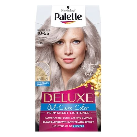 Schwarzkopf Palette Deluxe OilCare Color 240 1055 Dusty Cool Blonde