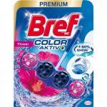 Odorizant pentru toaleta Bref Wc Color Aktiv Flower 50 g