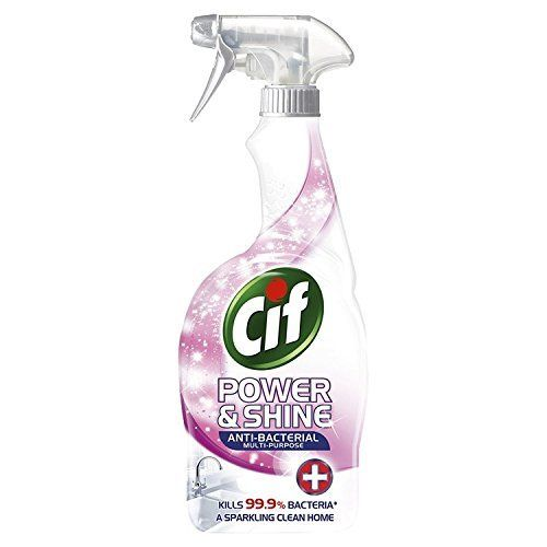 Solutie universala antibacteriana spray Cif Power & Shine 700 ml