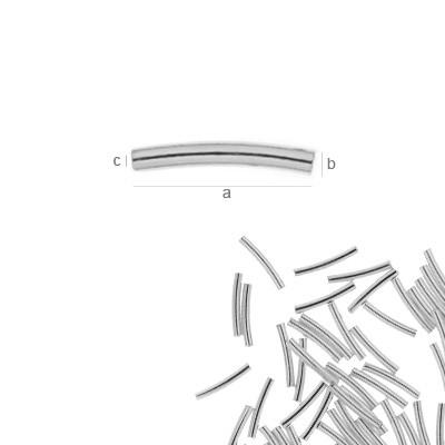 tub,argint .925 10 mm cod ag015