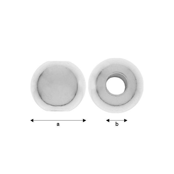 Bila ,argint 925 ,8 mm