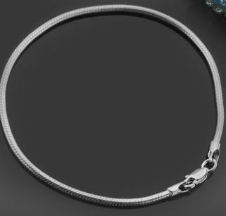 bratara,tip  pandora  19 cm grosime 2mm,argint 925