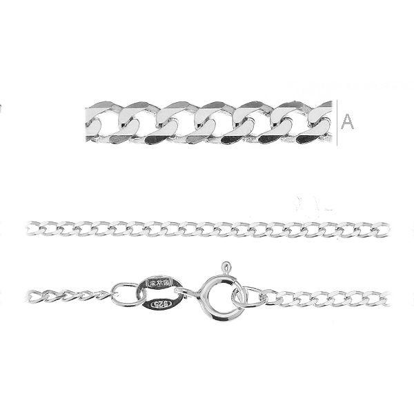 lant argint 925 , 55  cm  grosime 1.85 mm