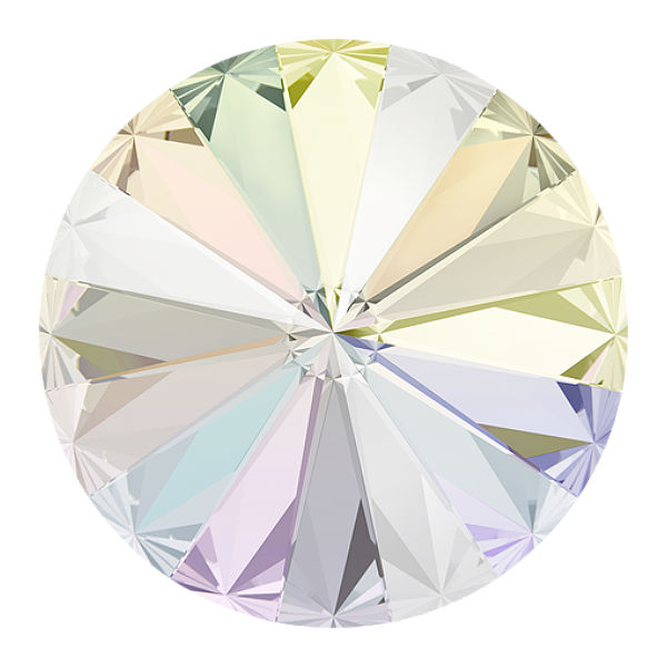 Swarovski 1122 crystal ab F  ss39 8.2 mm