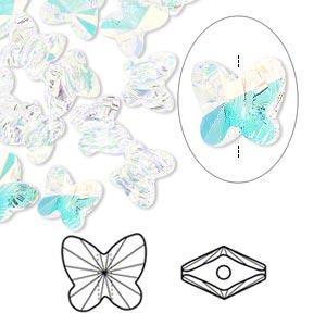 Swarovski 5754 8 mm crystal ab