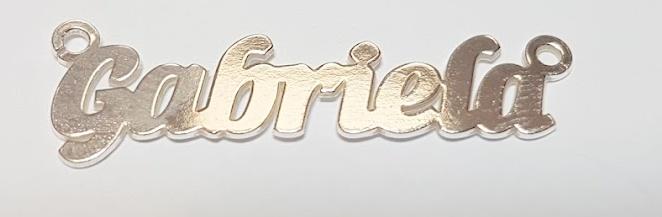 Placuta nume, argint 925 Gabriela