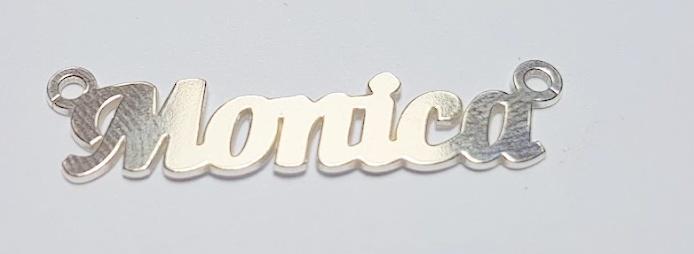 Monica ,argint 925 40*7 mm