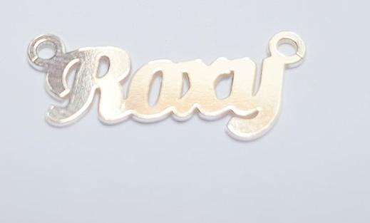 roxy ,argint 925 30*7 mm