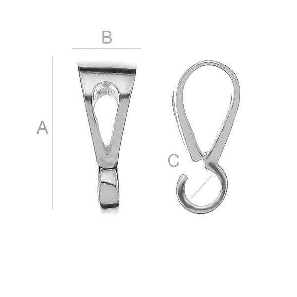 Agatatoare pandant, AG925 A11,50 mm B4,60 mm C2,50 mm