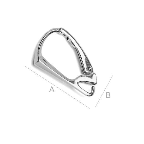 tortita, argint 925 A18,5 mm, B11,5 mm,