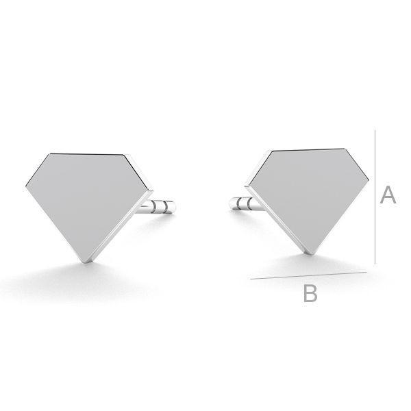 tortita, argint 925 - diamant