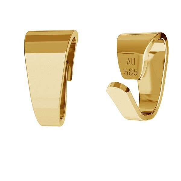 agatatoare pandant aur 14k placat cu aur de 24 k