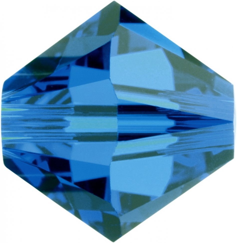 swarovski 5328  mm capri blue
