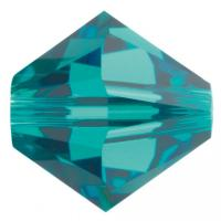 swarovski 5328  4mm blue zircon
