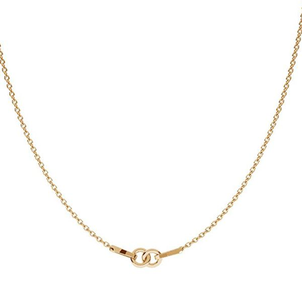 lant aur 14k placat cu aur de 24 k  s-chain 41 cm (20+20+1)
