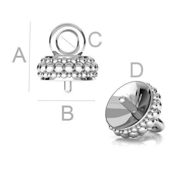 pandant pentru perla, argint 925