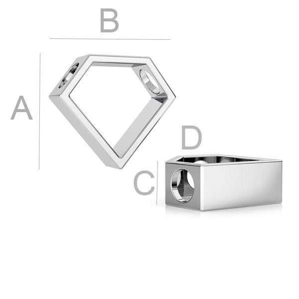 chatm argint 925 - diamant